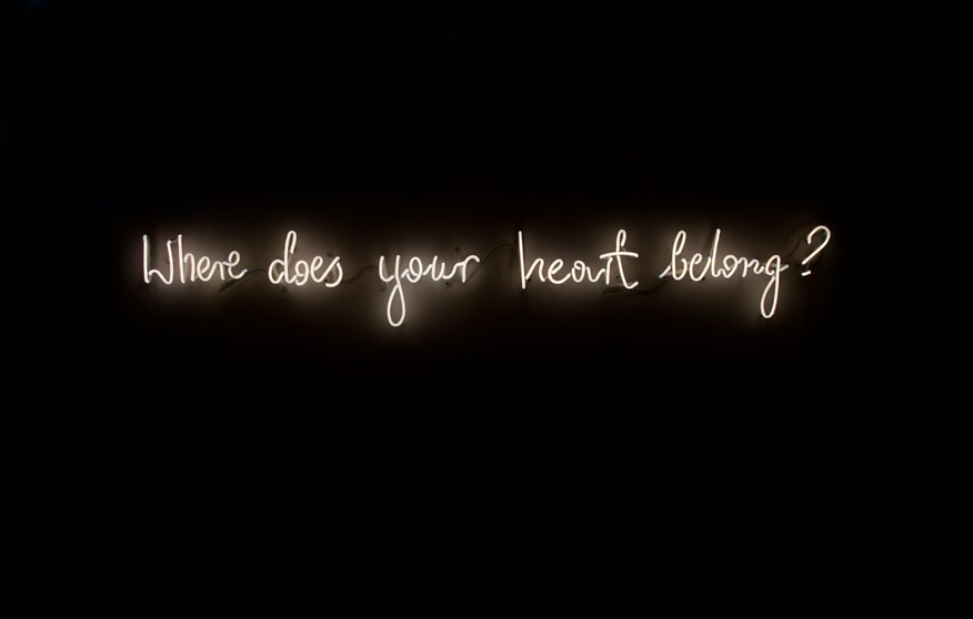 Michal Martychowiec - neon 霓虹灯 where does your heart belong